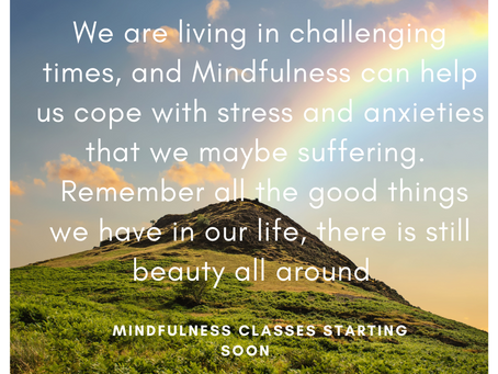 Mindfulness can help