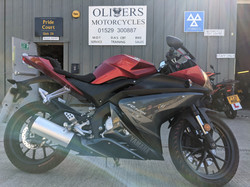2018 yamaha yzf125 980miles great condition