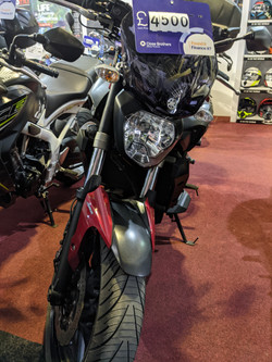 Yamaha mt07 £4500