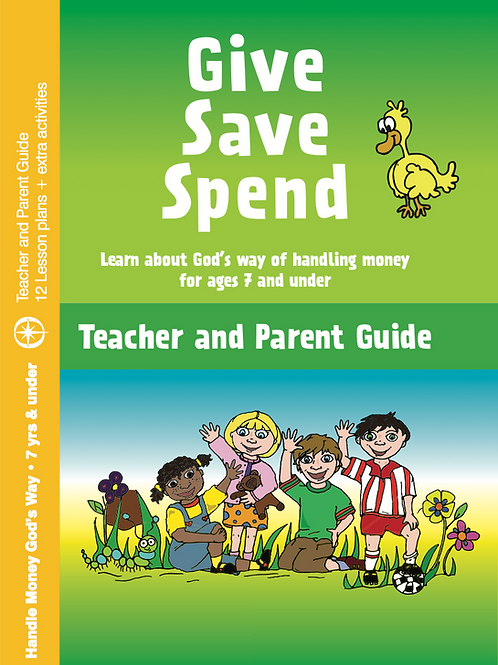 Give, Save, Spend - Teacher & Parent Guide