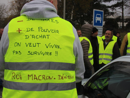 Not enough? The yellow vests ...