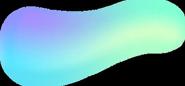 Forma abstrata colorida
