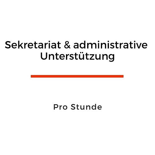 Sekretariat und administrative Arbeiten