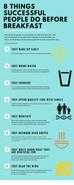 8 Things Successful People Do Before Breakfast