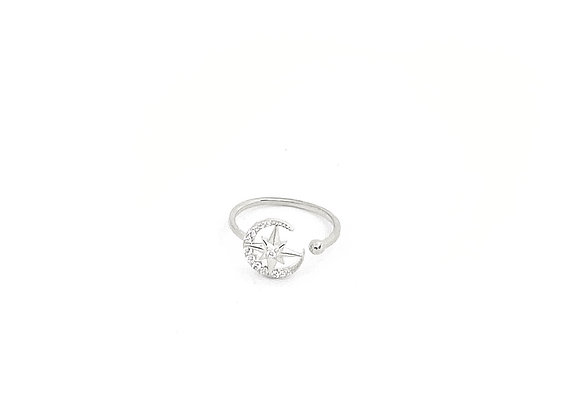COMPASS STAR RING