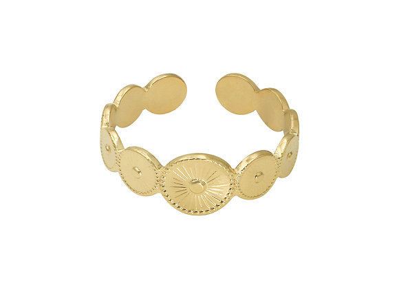 CLEO COIN RING