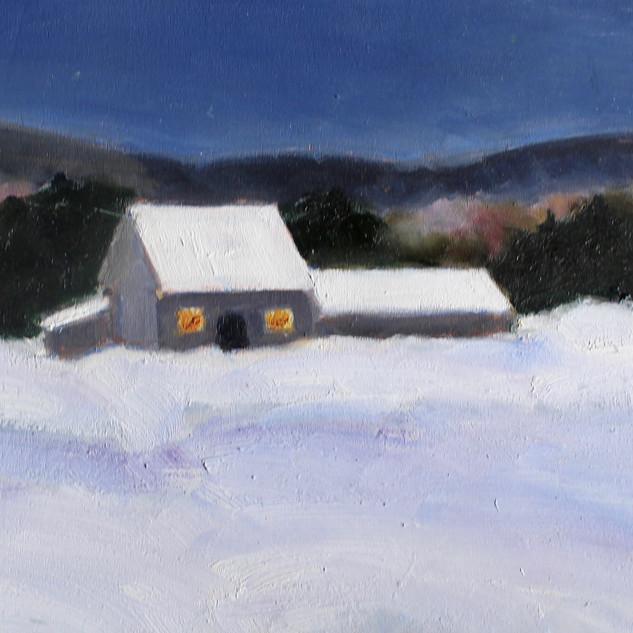 Winter Night Gaspereau