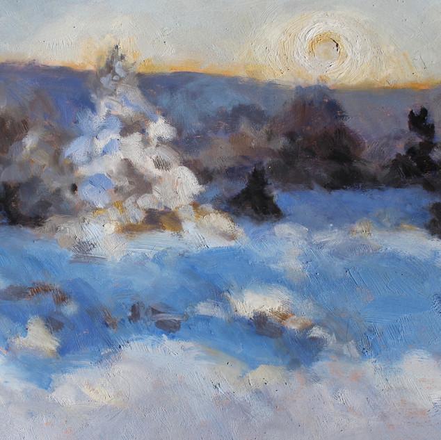 Winter Morning Wallbrook $350