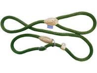 Dog & Co Soft Touch Rope Slip Lead Green