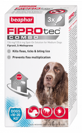 Beaphar Fiprotec Combo Medium dog 3 Pipette