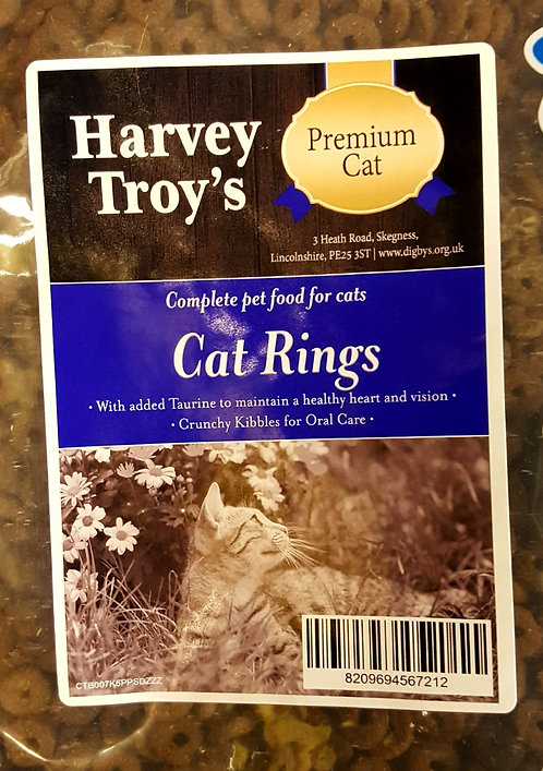 Harvey Troys Cat Rings 7.5kg