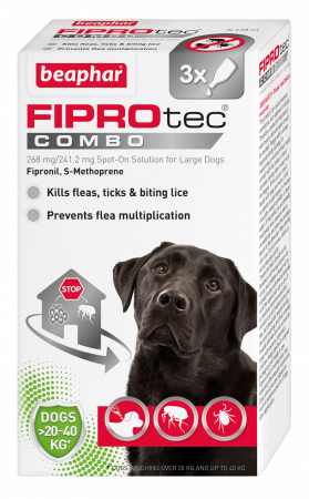 Beaphar Fiprotec Combo Large dog 3 Pipette