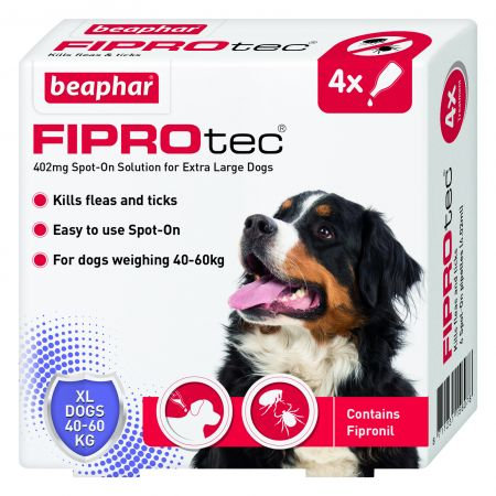 Beaphar Fiprotec Extra Large Dog 4 pipettes