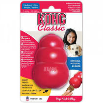 Kong Classic Treat Dog Toy Red (all sizes)