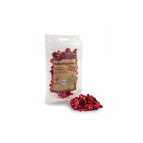 Ancol Natures Paws Dried Cranberry 15g