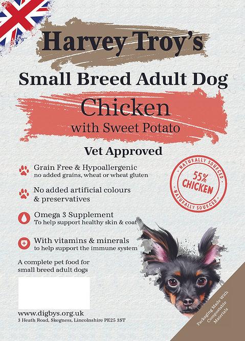 Harvey Troys Grain Free Small Breed Chicken 6kg