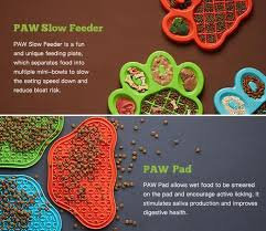 Paw Feeder with Paw Pad