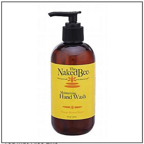 The Naked Bee Orange Blossom & Honey, Moisturizing Hand Wash, 8 oz.