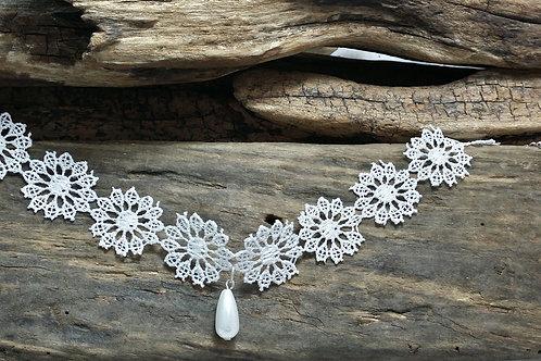 Lace wedding choker necklace