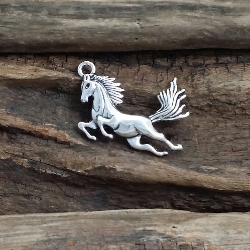 Large horse charm, 52 mm