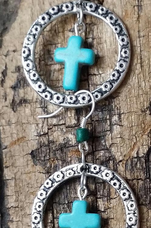 Boho, hippy earrings