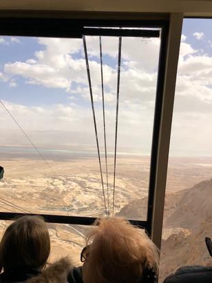 Cable Car at Masada