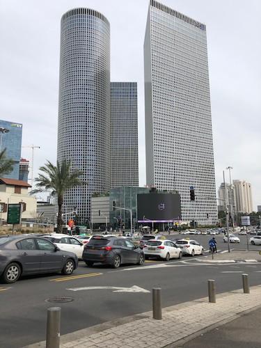 Azrieli Towers in Tel Aviv