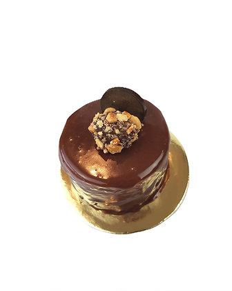 Hazelnut Mousse Dessert Cake (min. 6 per order)