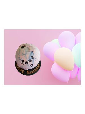 Bowling Ball Custom Cake