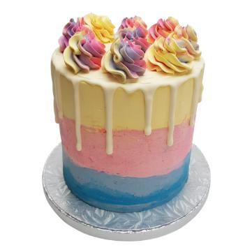 Rainbow Cake 6 inch