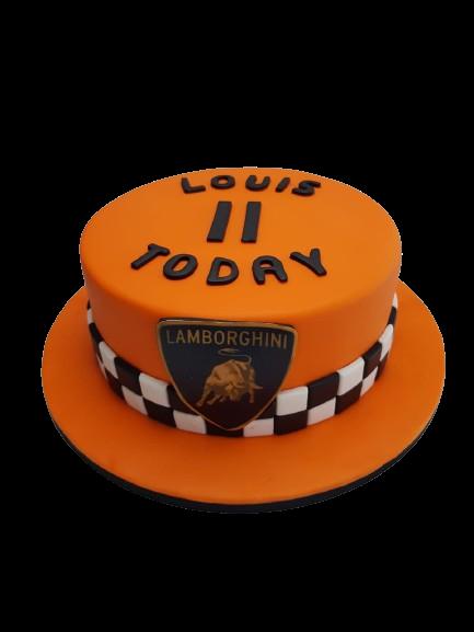 Custom Lamborghini Cake