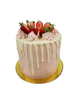 Strawberry Cake 8 inch