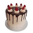 Raspberry Drip Cake