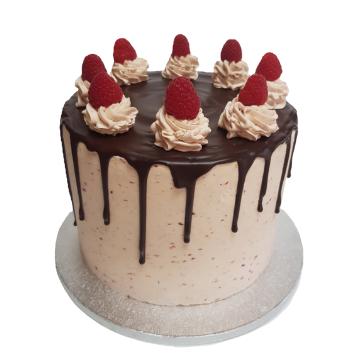Raspberry Cake 8 inch