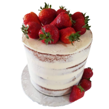 White Chocolate Mud Cake 10 Inch