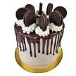 Cookies and Cream  Drip Cake