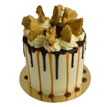 Hokey Pokey Cake 8 inch
