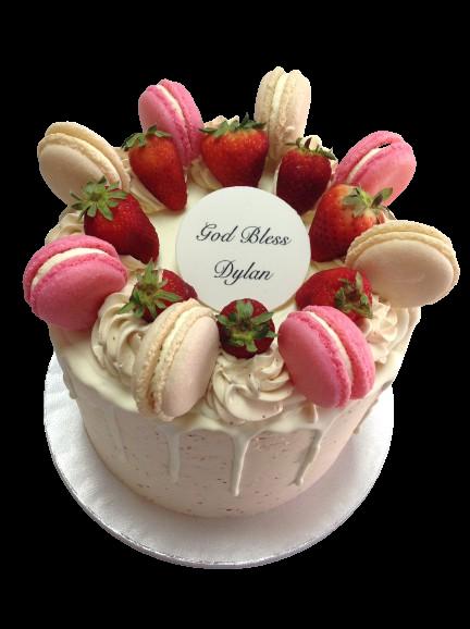 Custom Confirmation Cake