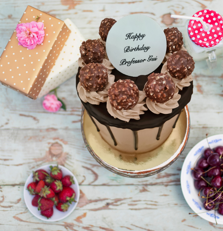Rocher Hazelnut Cake
