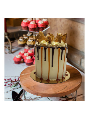 Honeycomb Drip cake