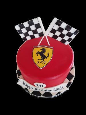 Lamborghini Custom Cake