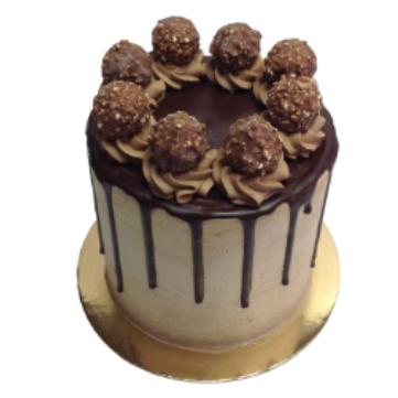 Rocher Cake (Hazelnut)  10 Inch