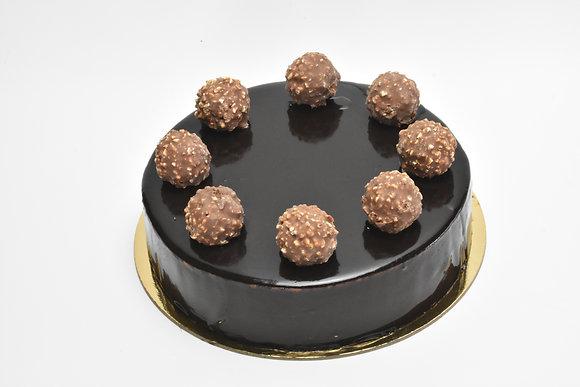 Hazelnut & Chocolate Mousse 7 inch