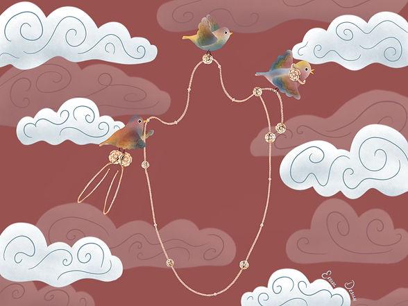 Chanel-illustrations-jewelry-ekbergdesig