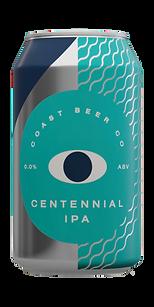 Coast Beer Co: Alcohol Free Centennial IPA