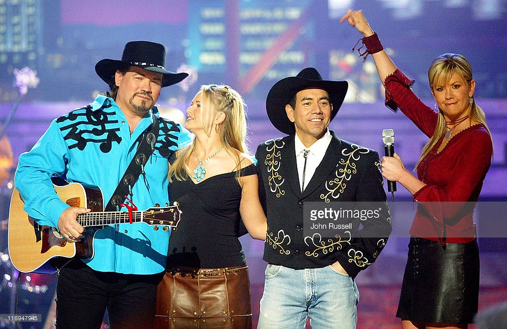 Nashville Star Season One with Buddy Jewell, Miranda Lambert and Nancy O'Dell.