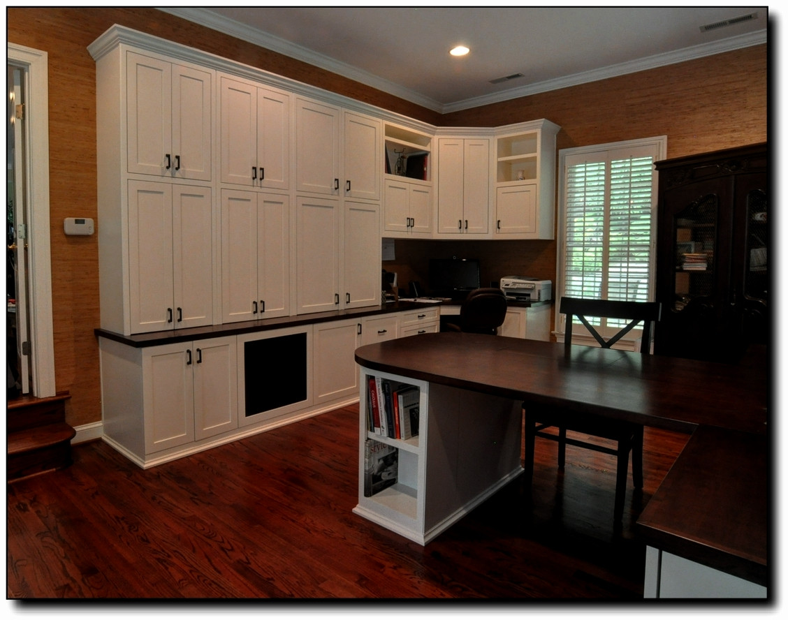 Home Office Stain Grade Counter Tops