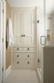 Customer's submitted built-in cabinet design idea from Houzz. Installed in Fairfax, VA