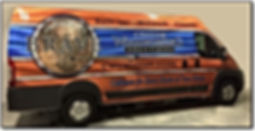 Our Brave Custom Woodworking Solutions van based out of Manassas, VA