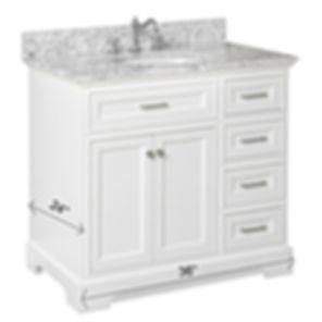 single-sink vanity